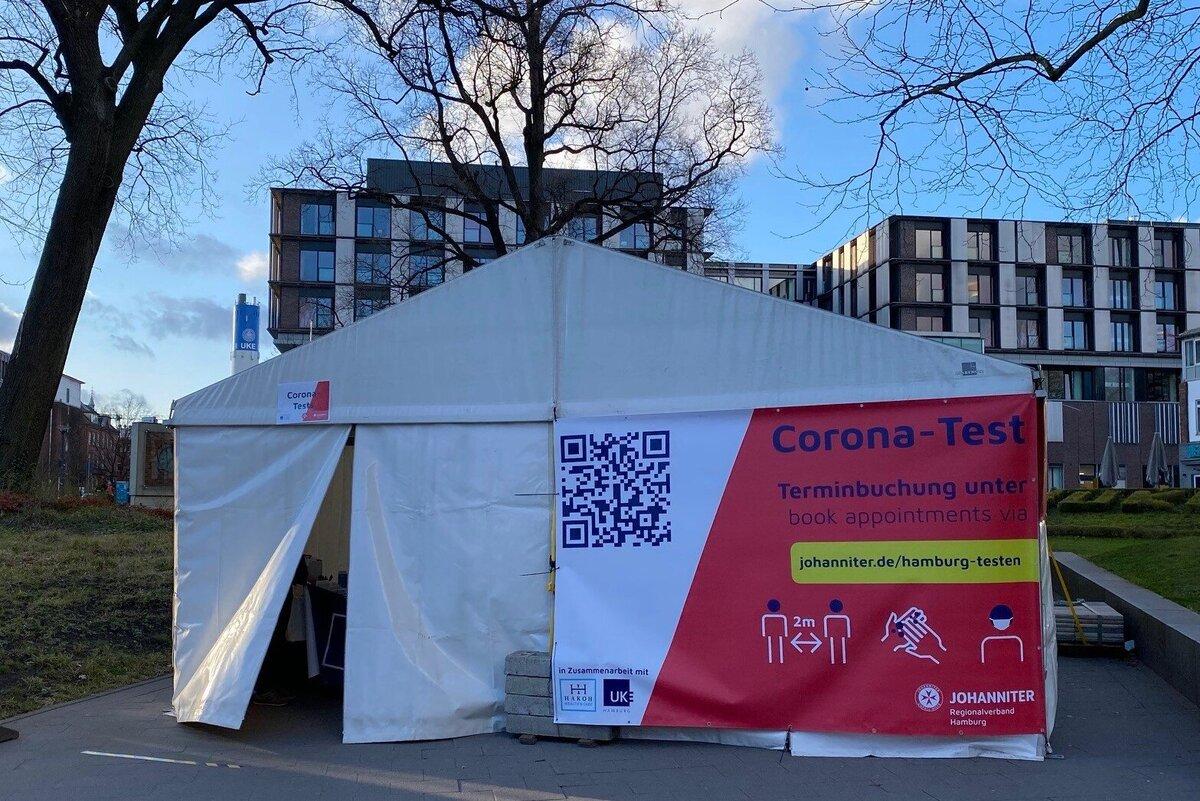 Johanniter bieten kostenlose Corona Schnelltests in Eppendorf ...